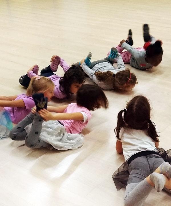 lezione di baby dance.