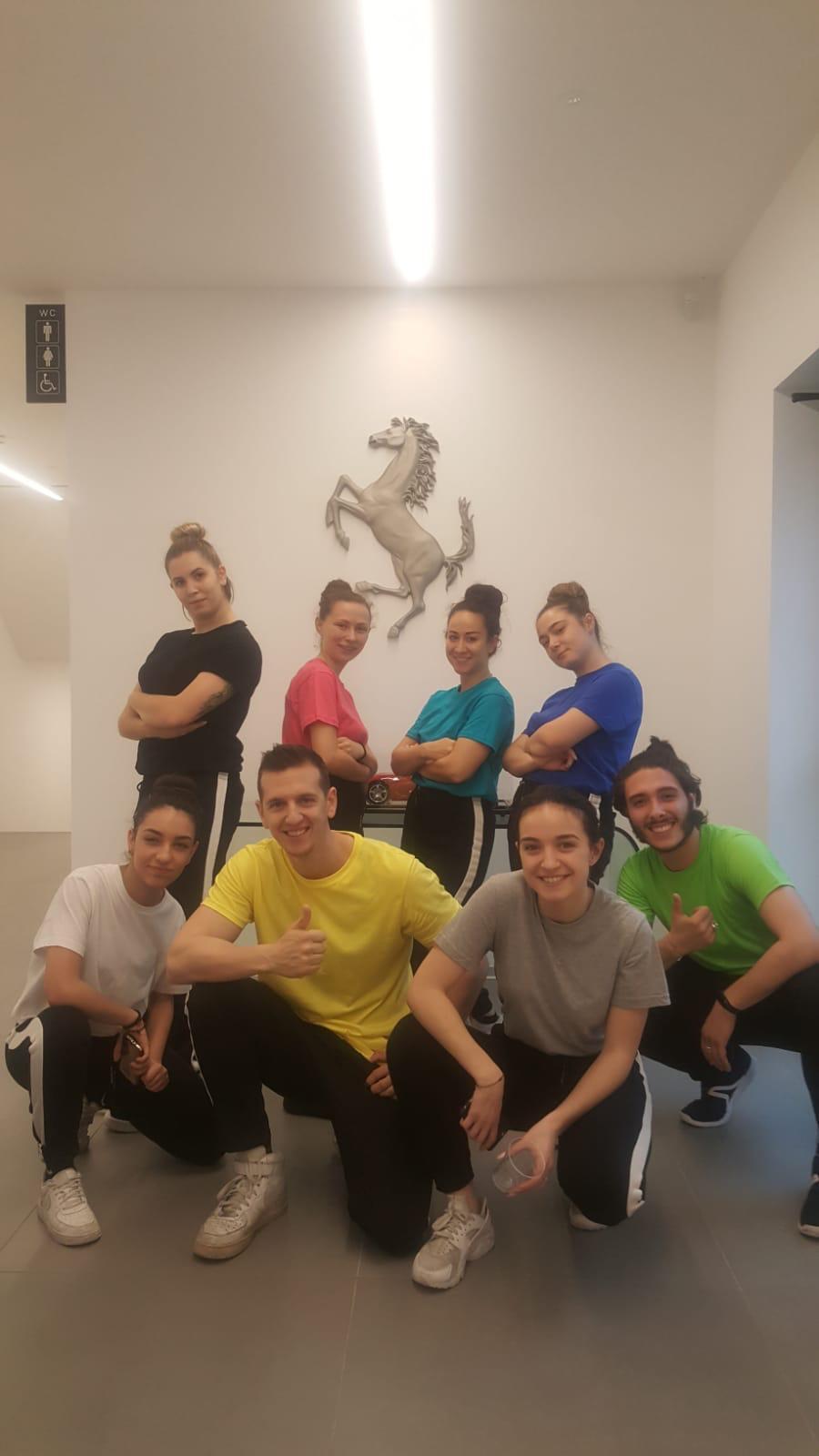 happy dance museo ferrari