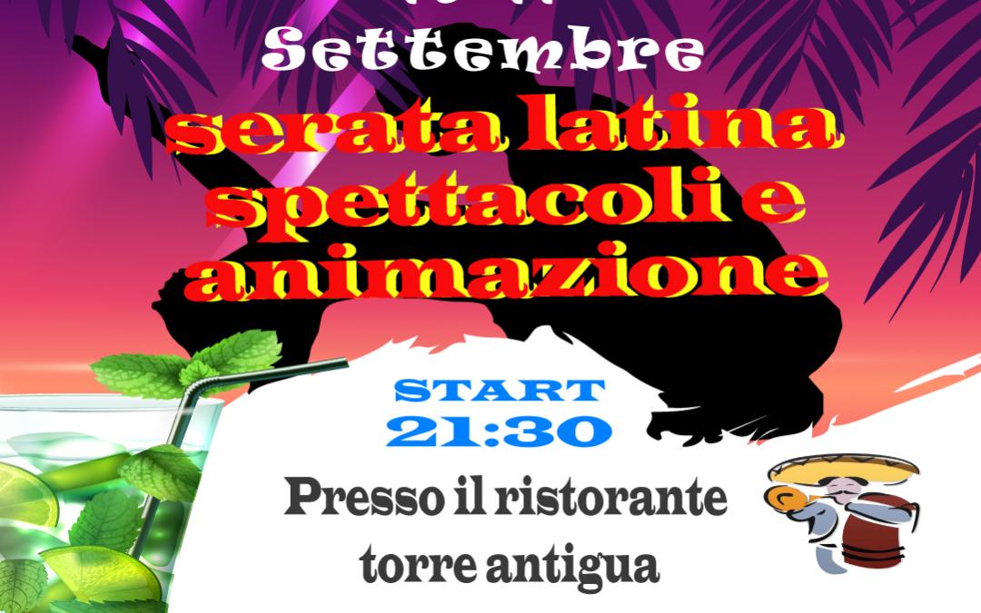 Serate latine festa dell'unità Ponte Alto