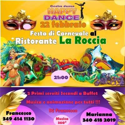 Carnevale con Happy Dance!