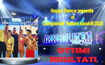 Happy Dance ai Campionati Italiani Assoluti