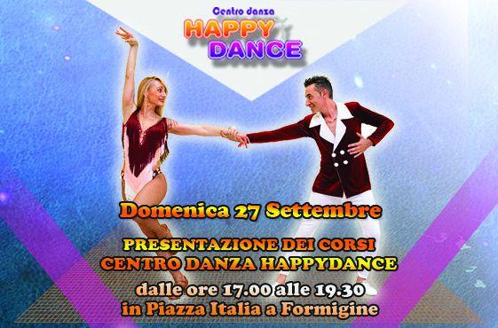 Presentazione corsi Happy Dance al settembre formiginese!