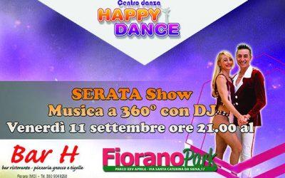 Venerdì sera con Happy Dance!