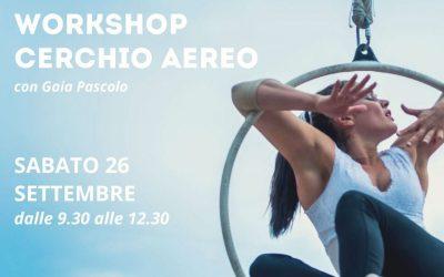 Workshop di Cerchio Aereo all' Happy Dance!